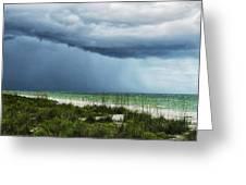 Island Rain Greeting Card