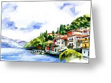 Italian Summer Vacation Greeting Card