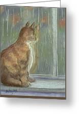 It's Raining Outside Greeting Card