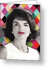 Jackie Geometric Greeting Card
