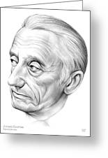 Jacques-yves Cousteau Greeting Card