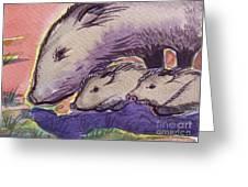 Javelina Family Greeting Card