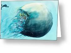 Jellyfish 4 Greeting Card