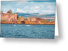 Jet Ski - Inchgarvie Greeting Card