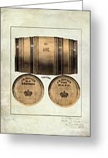 J.h. Cutter Old Bourbon Greeting Card