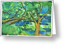 Jigsaw Canyon Greeting Card