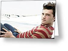 Josh Hutcherson Greeting Card