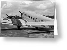 Ju-52 Taxing Greeting Card
