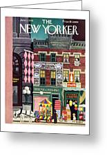 New Yorker June 1st 1946 Greeting Card