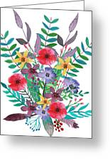 Just Flora I Greeting Card