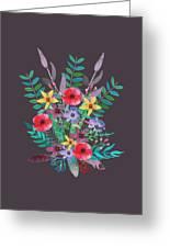 Just Flora II Greeting Card