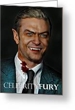 Justin Timberlake Greeting Card