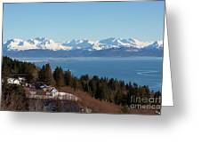Kachemak Bay And Homer Alaska Greeting Card