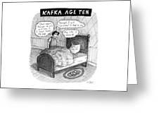 Kafka Age Ten Greeting Card