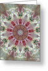 Kaleidoscope Valentine  Greeting Card