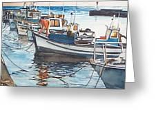 Kalk Bay Morning Greeting Card by Tim Johnson