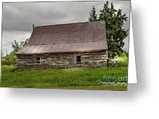 Kansas Barn Greeting Card