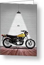 Kawasaki Z1 Greeting Card