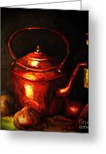 The Red Kettle Greeting Card