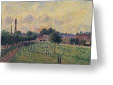Kew Gardens, 1892 01 Greeting Card