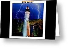 Key West Lighthouse Greeting Card