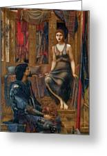 King Cophetua And The Beggar Maid 1884 Greeting Card