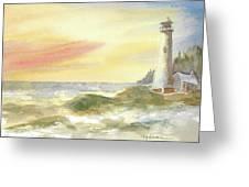 Kingdom By The Sea Greeting Card