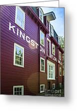 Kingston Flour Mill House Greeting Card
