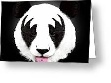 Kiss Of A Panda Painting By Robert Farkas