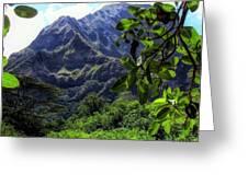 Ko'olau Peak Greeting Card