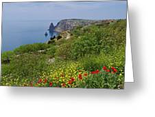 Crimea View, Fiolent Greeting Card