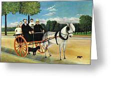 La Carriole Du Pere Junier - Digital Remastered Edition Greeting Card
