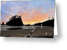 La Push Special Sunset Greeting Card