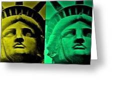 Lady Liberty For All Greeting Card