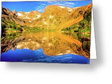 Lake Isabelle, Revisited Greeting Card
