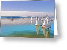 Lake Lanier Greeting Card