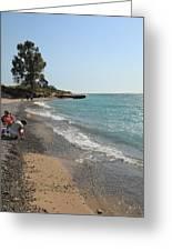 Lake Michigan Frankfort Mi Greeting Card