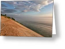 Lake Michigan Overlook 11 Greeting Card