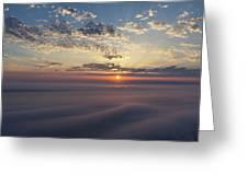 Lake Michigan Overlook 15 Greeting Card