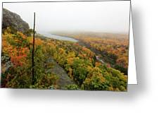 Lake Of The Clouds 9 Greeting Card