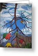 Lake Reflections - Autumn Greeting Card