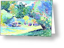 Landscape - Digital Remastered Edition Greeting Card