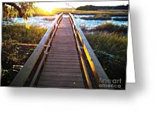 Lead Me To The Light Greeting Card
