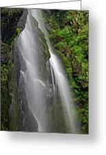Lee Falls Close Up Greeting Card
