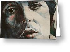 Let Me Roll It - Paul Mccartney - Resize Crop Greeting Card