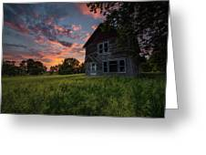 Letters From Home Greeting Card