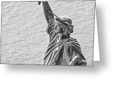 Liberty Greeting Card by Rand
