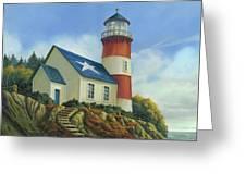 Liberty's Light Greeting Card