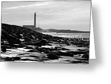 Lifeguard Station Westkapelle Greeting Card