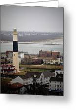 Lighthouse - Atlantic City Greeting Card
